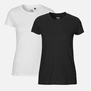 NEUTRAL® Doppelpack Damen Bio T-Shirt  - Bio Baumwolle - Neutral