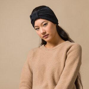 Recycelte Kaschmirwolle Stirnband - Amelia - Rifò - Circular Fashion