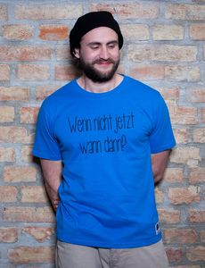 Jetzt T-Shirt - EarthPositive