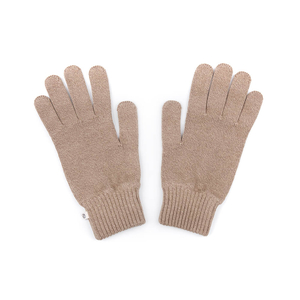Ecoknit Handschuhe Taupe - bleed