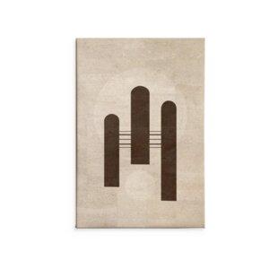 Kork Wandbild Triumph / Kunstdruck - Corkando