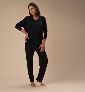 Damenschlafanzug aus ökologischer Pflanzenfaser - CasaGIN