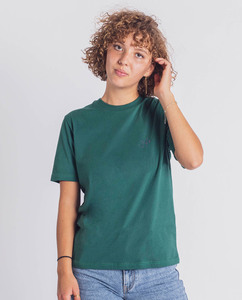 Damen T-Shirt aus Bio-Baumwolle - Good smile - grün - Degree Clothing