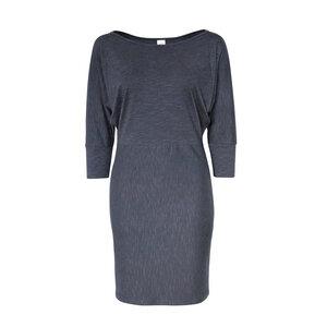 MILLA MELANGE - Damen - Kleid aus Biobaumwolle - Grau Melange - Jaya