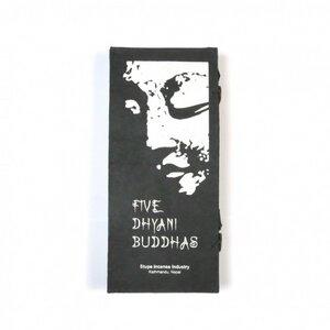 5 Dhyani Buddhas Räucherstäbchen - Just Be