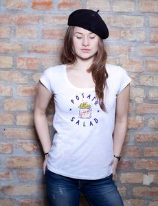 Potato Salad Wide T-Shirt - EarthPositive