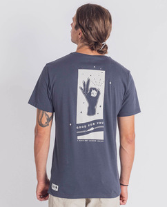 Shirt | Looked inside | blau - Degree Clothing