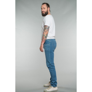 Slim Fit / Mid Rise Jeans Finn SUMMERBLUE - Feuervogl