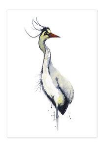 Poster Animal Heron matt - GreenBomb