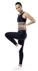 """Shape Effekt Leggings """"Lanasia"""" mit breitem Bund und eng anliegendem Bein - LANASIA"""