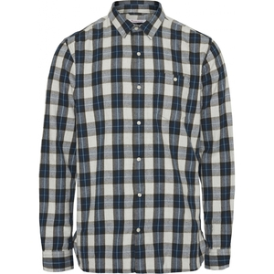 LARCH Casual Fit Small Checked Flanell GOTS Vegan - KnowledgeCotton Apparel