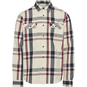 PINE Casual Fit Heavy Checked Overshirt Hemd GOTS Vegan - KnowledgeCotton Apparel