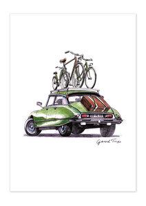 Poster Bike Good Trip matt - GreenBomb