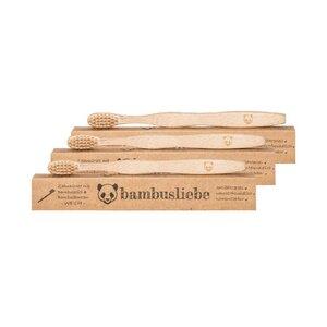 Bambus Kinder-Zahnbürste  - bambusliebe