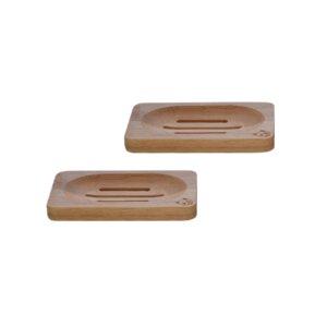 Bambus Seifenschale (2er Pack) - bambusliebe