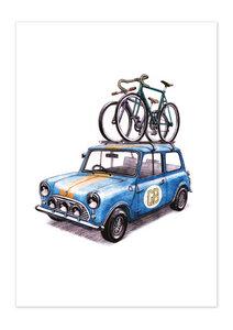 Poster Bike Rallye matt - GreenBomb