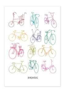 Poster Bike Retro Bikes matt - GreenBomb