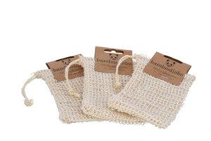 Sisal Seifensäckchen (3er Pack) - bambusliebe
