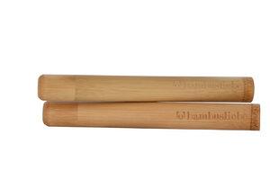 Travel Case/Etui für Bambus Zahnbürsten (2er Pack) - bambusliebe