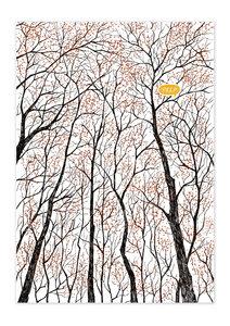 Poster Nature Forest Peep matt - GreenBomb