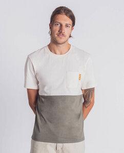 Herren T-Shirt aus Bio-Baumwolle - Half/Half  - Degree Clothing