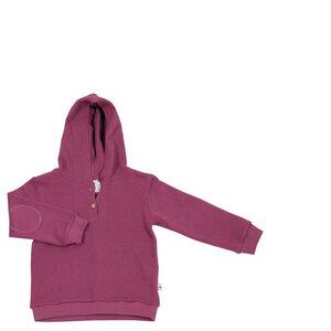 Piquéstoff Hoodie Bio-Baumwolle Langarmshirt  Kapuzenpullover 2023 - Leela Cotton