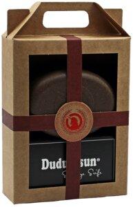 Geschenkset  Dudu Osun Seife mit plastikfreier Seifendose  - Spa Vivent