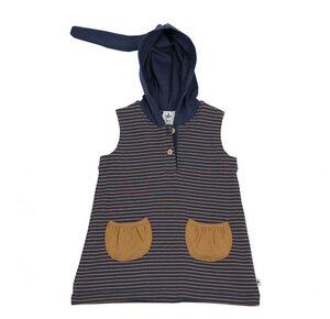 Tunika Kapuzenkleid Bio-Baumwolle Kleider 2031 - Leela Cotton