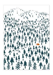 Poster Nature Landscape matt - GreenBomb