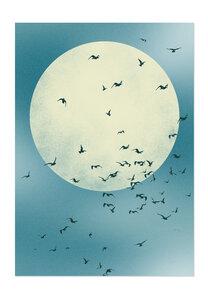 Poster Nature Moon matt - GreenBomb