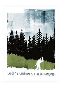 Poster Nature World Champion matt - GreenBomb