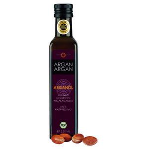 Bio-Arganöl, geröstet 250 ml - ARGANARGAN