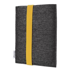 e-Book Reader Hülle COIMBRA für Kindle - veganer Filz - anthrazit - flat.design