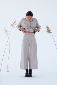 Cordhose aus Bio Baumwolle - Imari - Silber Grau - Suite 13