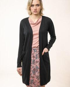 "Lange Strickjacke aus Bio-Baumwolle ""Long Jacket"" - Alma & Lovis"