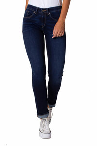 KUYICHI Damen Jeans Suzie Slim Deep Blue Bio-Baumwolle - Kuyichi