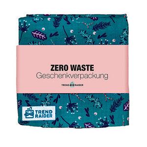 Zero Waste Geschenkverpackung, Geschenktuch von TrendRaider - TrendRaider