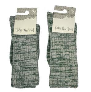 Woll-Baumwoll-Socken meliert - Bulus organic Textilien GmbH