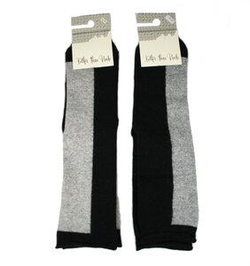 Woll-Baumwoll-Socken, Blockstreifen - Bulus organic Textilien GmbH