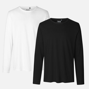 Neutral Doppelpack Long Sleeve Shirt - Bio-Baumwolle - Neutral