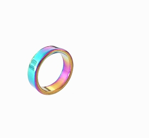 Hematit Ring in Regenbogenfarben - Crystal and Sage