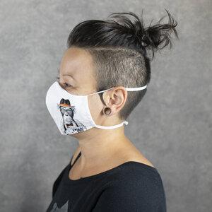 """Mund- & Nasenmaske """"Toleranz"""", Gesichtsmaske, Maske - WEARETHEFUCKINGLEADERS"""