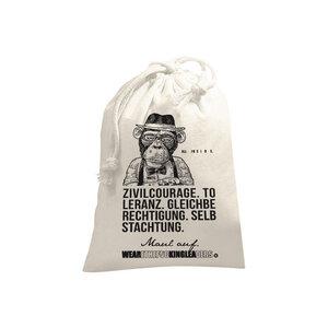 Kleiner Zuzieh- / Aufbewahrungsbeutel für die Mund- & Nasenmasken, Gesichtsmaske, Maske - WEARETHEFUCKINGLEADERS