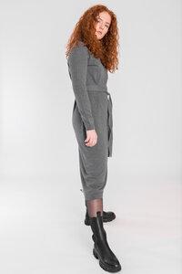 """Feines, hochwertiges Midi Strick Kleid aus 100% Bio-Baumwolle """"JULES"""" - STORY OF MINE"""
