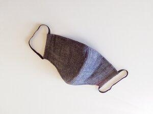 SEIFERT Mundschutzmaske jeansgrau - SEIFERT