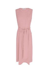 Mona - Kleid in Midilänge aus Bio Baumwolle - MARIA SEIFERT