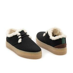 Wintersneaker Goodall mit wasserabweisenden Obermaterial (black) - Vesica Piscis Footwear