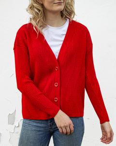 Painters Brush Damen Cardigan - Le Pirol
