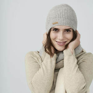 Mütze Juba Alpaka GOTS Baumwolle - Living Crafts