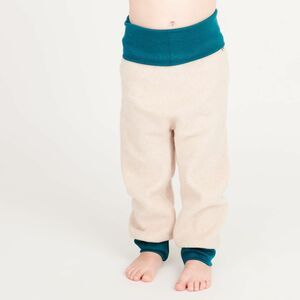 "Fleece-Pumphose aus Bio-Baumwolle ""Fleece Nude meliert"" - Cheeky Apple"